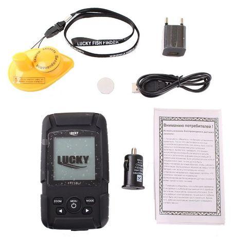 Эхолот Lucky FF718LiW Беспроводной, Оригинал, Бесплатная доставка