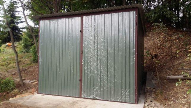 Nowy Garaż Blaszany Mobilny Standard 3x5 ocynkowany