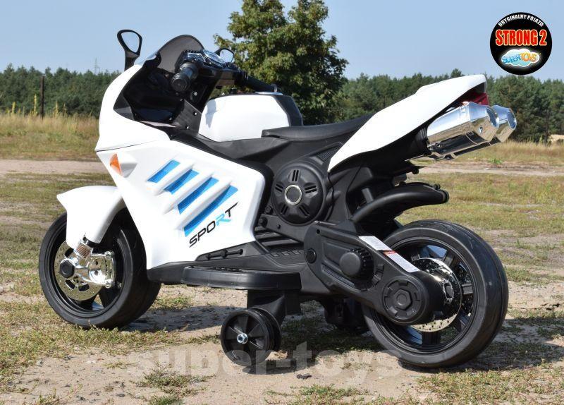 WIELKI Super Szybki MOTOR ŚCIGACZ SPORT na akumulator Miechów - image 1