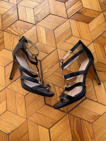 Buty damskie letnie rozmiar 40 czarne