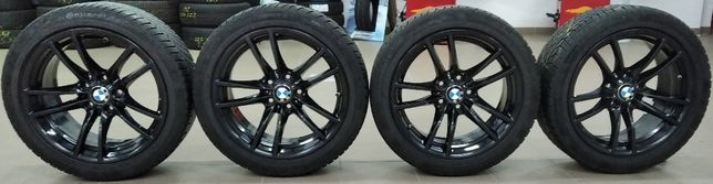 """Koła zimowe BMW M4 18"""" 5x120 Opony 255/40R18 99V Continental TS830P"""