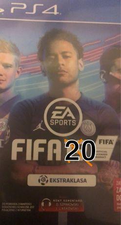 Fifa 20 PS4 lepiej trafić nie mozesz