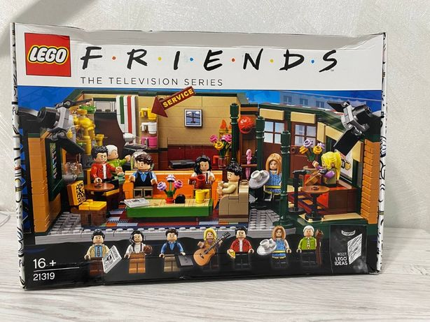 LEGO Ideas (21319) Друзья: Центральный Перк «Friends»