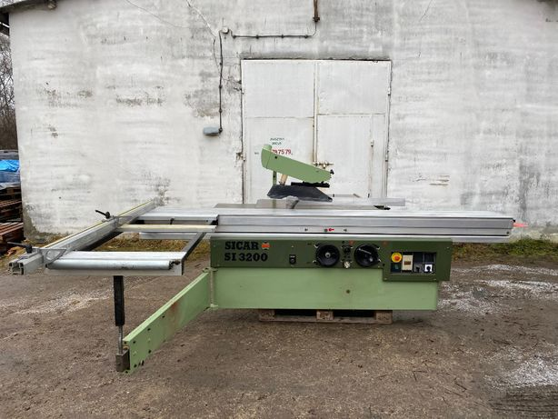 Piła formatowa, formatówka, pilarka SICAR SI 3200 podcinak/0-45°