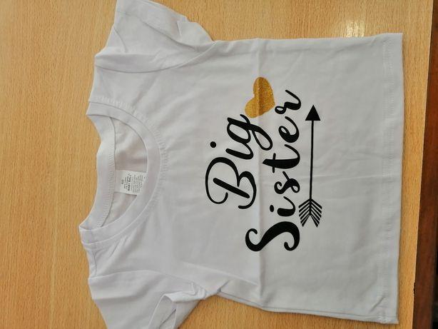 T-shirt para menina Tam. 80cm