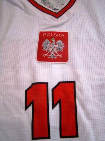 Koszulka Reprezentacji Polska num 11,Nowa