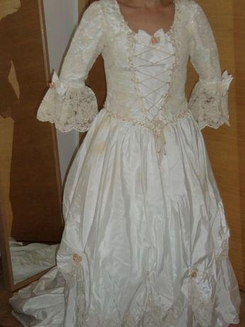 Vestido de noiva Dama Antiga Romantico