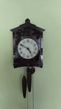Zegar ścienny z kukułką