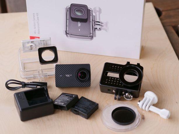 Kamera sportowa Xiaomi Yi 4K+ UltraHD, Obudowa wodoszczelna, Akcesoria