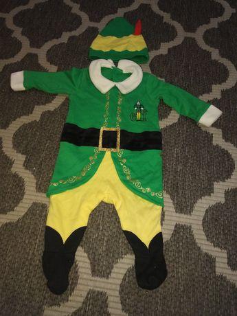 Pajacyk, kostium świąteczny.