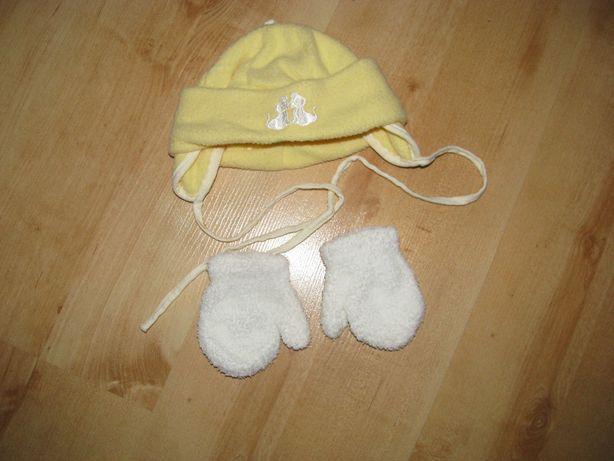 czapeczka+rękawiczki