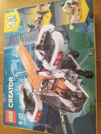 LEGO creator 31071 dron motorówka samolot