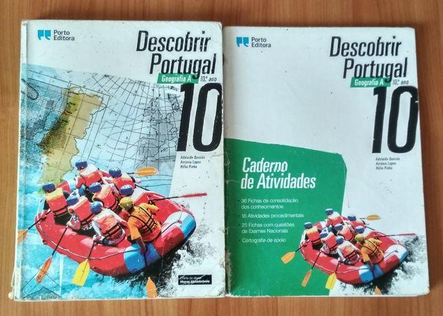 "Manual Geografia A ""Descobrir Portugal"" - 10º Ano"
