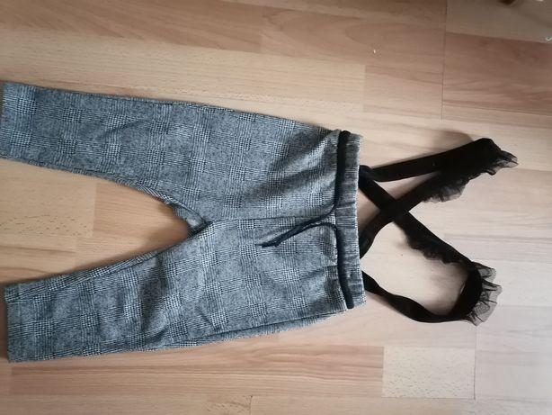 Spodnie Zara dziewczynka 92