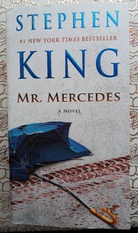"""Книга """"Mr. Mercedes"""" Стивена Кинга на английском языке"""