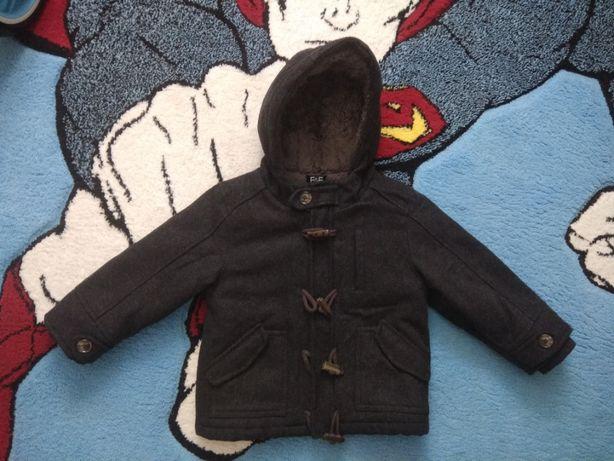 Зимнее пальто F&F на 2-3 года в отличном состоянии