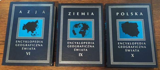 Encyklopedia Geograficzna Świata - tom VI Azja, IX Ziemia, X Polska