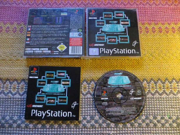 Arcade´s Greatest Hits,The Midway Collection 2, PS1, PAL