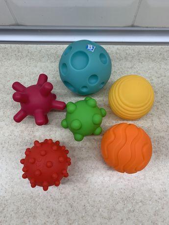Набор текстурных мячей Sensory Яркие мячики