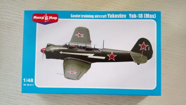 Сборная модель Самолет Як-18