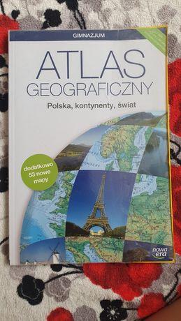 Atlas geograficzny do nauki, do szkoły i nie tylko