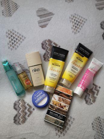 Kosmetyki Fixer krem cienie puder szampon perfum nike