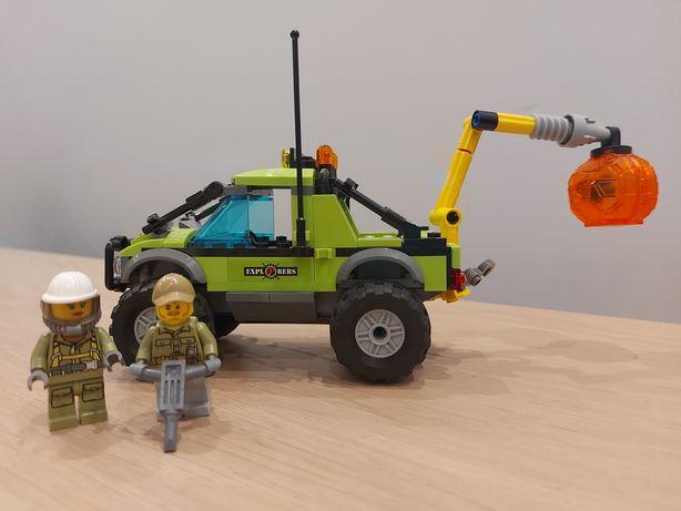 Lego City samochód badawczy