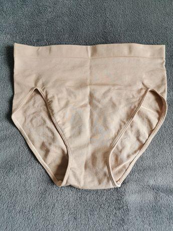 Nowe beżowe majtki modelujące wyszczuplające M/L