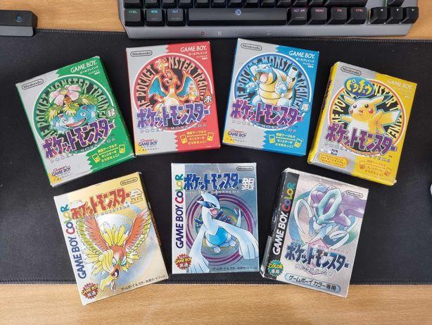 Jogos Pokémon JPN (Nintendo Game Boy / Color / Advance)