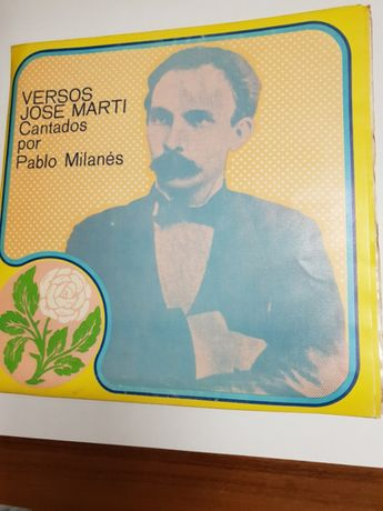 Płyta winylowa. Versos Jose Marti. Kuba