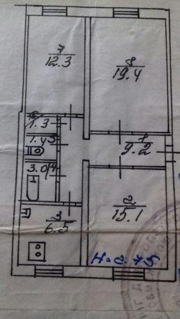Продам з-х комнатную квартиру в Саксаганском районе на пл. Артема