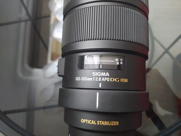 Sigma 120-300 f 2,8 APO EX DG OS HSM Canon Możliwa zamiana