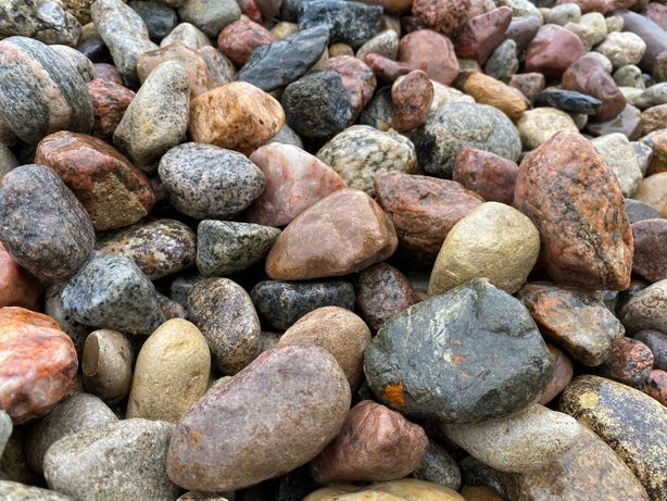 Kamień ogrodowy Otoczak Żwir płukany Kamień drenażowy Wywrotka 1-25t