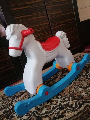 Лошадка, качалка, пластиковая, Орион