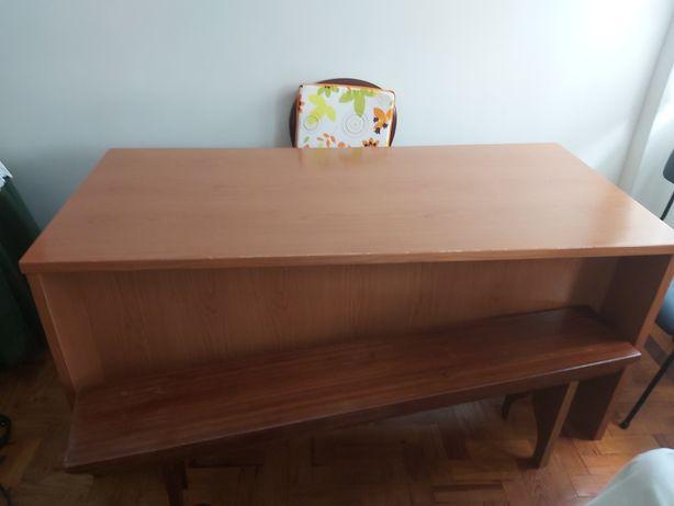 Mesa madeira (para sala ou escritório)