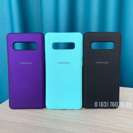 Чехол Samsung S10/S10E/S10 Plus Софт тач + микрофибра Самсунг Case