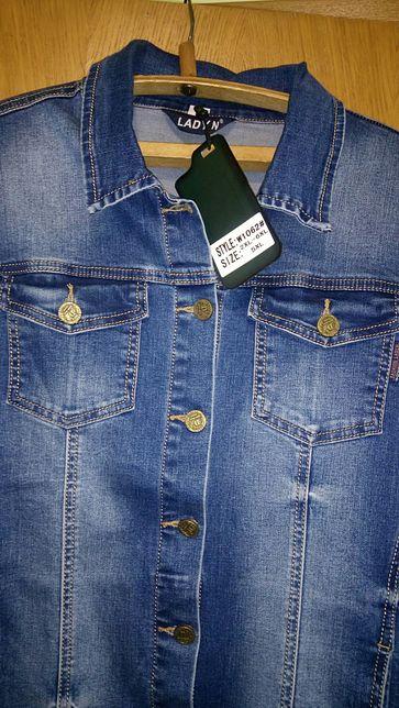 Женская джинсовая курточка р.54 Турция