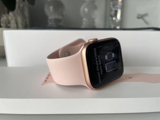 Apple watch series 5 Gold Złoty 44mm stan idealny gwarancja