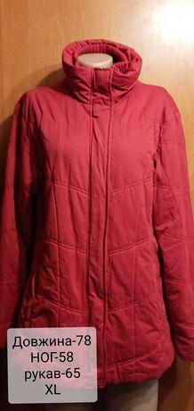 Тепла курточка XL