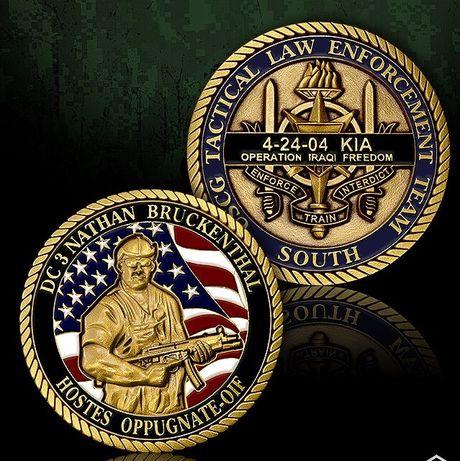 Moneta pamiątkowa Nathan Bruckenthal medal numizmat