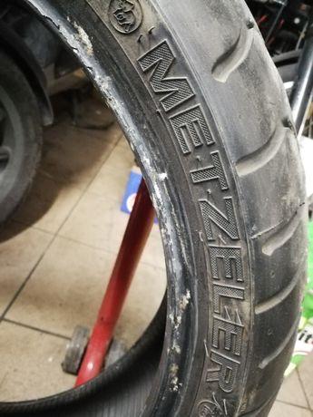 Opony Metzeler 180/55 ZR17 i Pirelli 120/70 ZR17