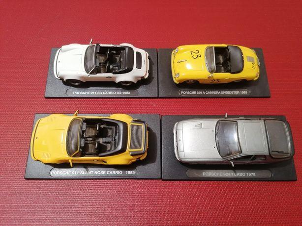 4 Miniaturas Porsche