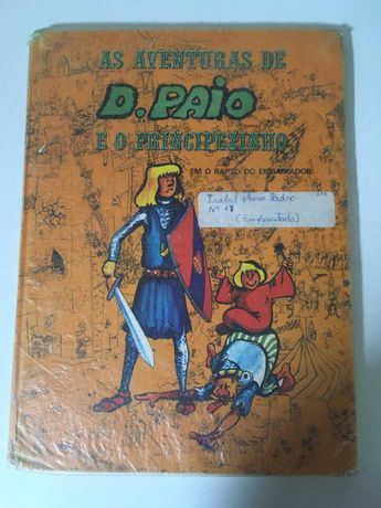 Livro - As Aventuras de D. Paio e o Principezinho