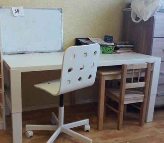 Письменный стол с регулировкой высоты