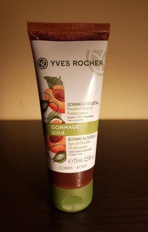 Yves Rocher peeling roślinny do ciała z pudrem z pestek moreli 75 ml