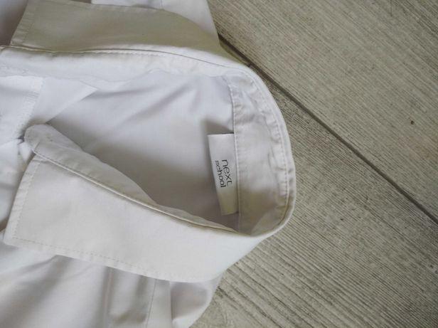 Белая рубашка/блуза для школы с длинным рукавом.
