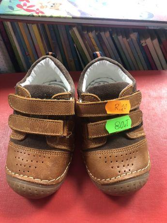 Skórzane włoskie buciki buty
