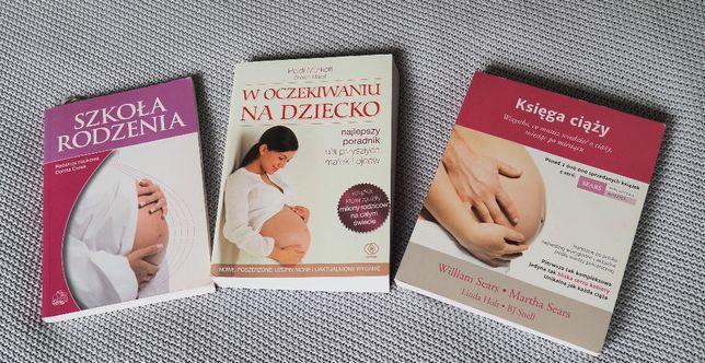 3x książka o tematyce ciążowej
