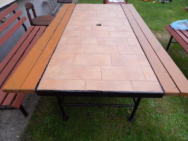 Stół ogrodowy, grillowy