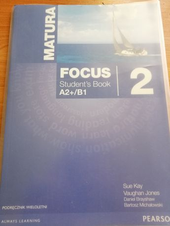 Książka Matura Focus 2 Student's book z płytą